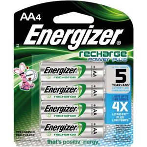 Picture of Energizer Recharge Rechargeable Batteries - AA4