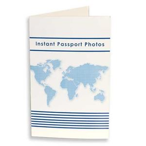 Picture of Passport Print Folder - White (100 pkg)