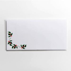 "Picture of Photo Envelopes - Holly design, holds  4"" x 8"" prints"