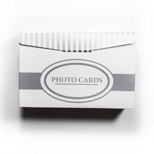 "Picture of Dual Photo Box, holds  4"" x 8"" - 5"" x 7"" prints & envelopes"