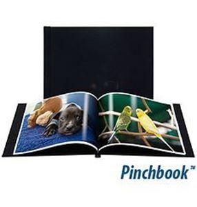 "Picture of 4""x6"" Pinchbook — Landscape, Black Cloth"
