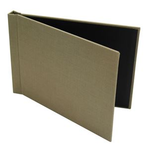 "Picture of 5""x7"" Pinchbook — Landscape, Taupe Cloth"