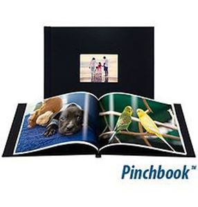 "Picture of 8""x8"" Pinchbook — Black Cloth"