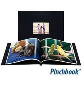 "Picture of 8""x10"" Pinchbook — Landscape, Black Cloth"