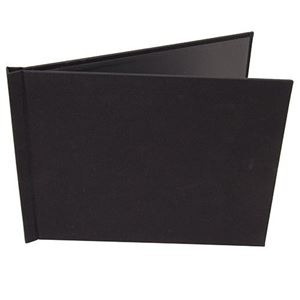 "Picture of 8.5""x11"" Pinchbook — Landscape, Black Cloth"