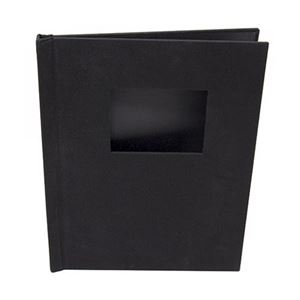 "Picture of 8.5""x11"" Pinchbook — Portrait, Black Cloth"