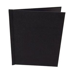 "Picture of 8.5""x11"" Pinchbook — Portrait, Black Cloth"