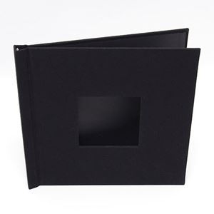 "Picture of 12""x12"" Pinchbook — Black Leather"