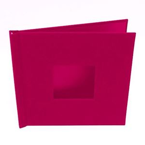 "Picture of 8""x8"" Pinchbook — Red Cloth"