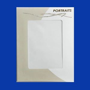"Picture of Portraits Envelope with window, 6.5"" x 8.5"""
