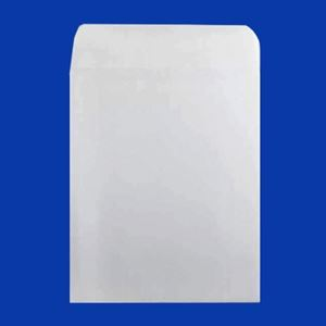 "Picture of Plain White Envelope, 7"" x 8.5"""