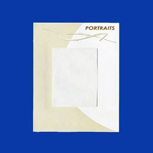 "Picture of Portraits Envelope with window, 9.5"" x 12"""