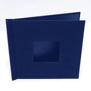 "Picture of 8""x8"" Pinchbook — Navy Cloth"
