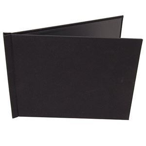 "Picture of 5""x7"" Pinchbook — Landscape, Black Cloth"