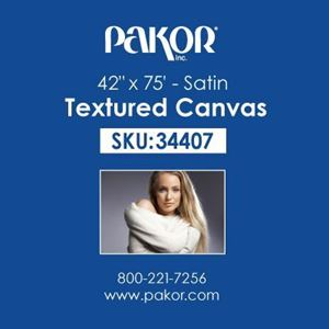 "Picture of Pakor Textured Canvas, 42"" x 75' - Satin (17 mil)"