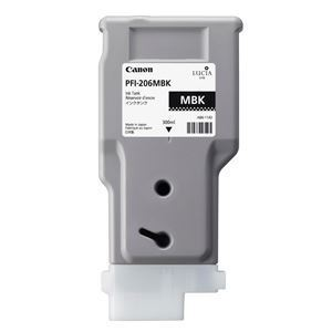 Picture of Canon PFI-206 Ink, 300 ml - Matte Black