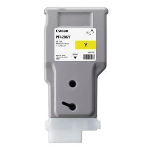 Picture of Canon PFI-206 Ink, 300 ml - Yellow
