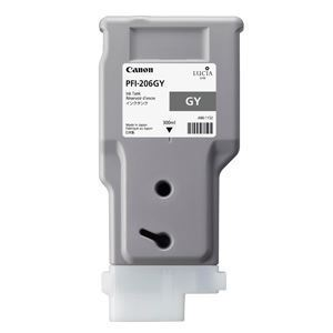 Picture of Canon PFI-206 Ink, 300 ml - Gray