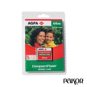 Picture of AGFA Compact Flash Memory Card 64MB