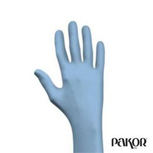 Picture of Blue Nitrile Gloves, 4 mil — Medium