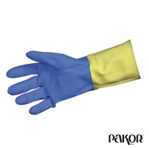 Picture of Blue Neoprene Gloves -- Size 9/Large