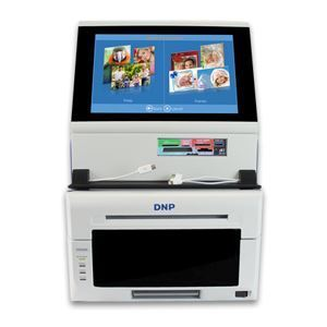 Picture of DNP SnapLab All-in-One Photo Kiosk System