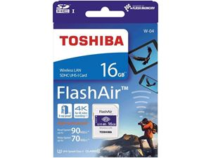 Toshiba FlashAir Card 16GB