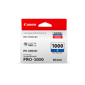 Picture of Canon PFI-1000 Ink, 80 ml - Blue