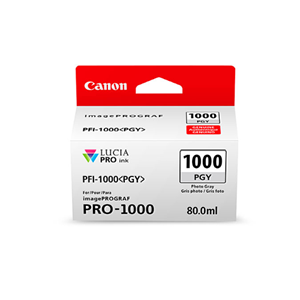 Picture of Canon PFI-1000 Ink, 80 ml - Photo Gray