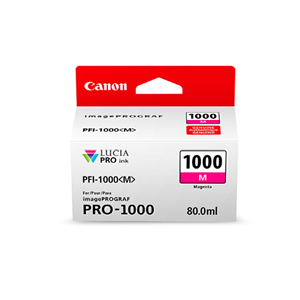 Picture of Canon PFI-1000 Ink, 80 ml - Magenta