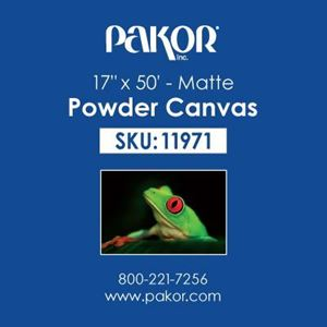 "Picture of Pakor Powder Canvas, 17"" x 50' - Matte (21 mil)"