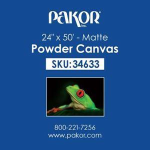 "Picture of Pakor Powder Canvas, 24"" x 50' - Matte (21 mil)"