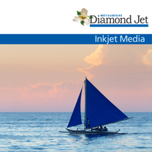 "Picture of Mitsubishi Diamond Jet 24"" x 100' - Metallic Glossy"