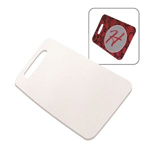 "Picture of CASE OF 50 Blank Sublimation Rectangle Bag Tag - 3"" x 5.5"""