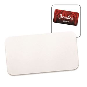 """Picture of CASE OF 100 Blank Dye Sublimation Aluminum Insert - 2"""" x 3.5"""""""
