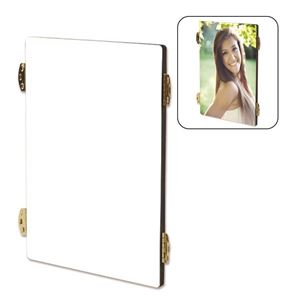 """Picture of CASE OF 20 Dye Sub Flat-Top Hinged Photo Panels - 5"""" x 7"""" (center panel)"""
