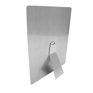 Picture of CASE OF 100 Small Silver Metal Easel