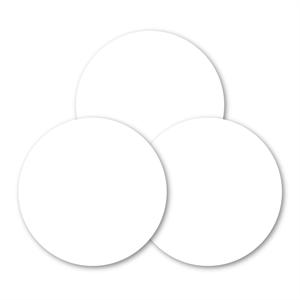 CASE OF 100 Aluminum Trophy Disk Sublimation Insert - 2
