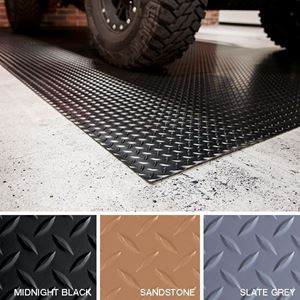 Picture of G-Floor Graphic 4'x8' Vinyl Graphic Flooring - Diamond Tread