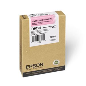 Picture of Epson T606C00 UltraChrome K3 Ink 220ml Light Magenta