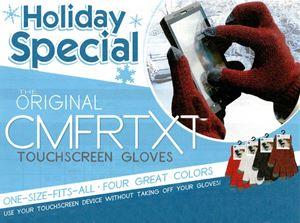 Picture of Original COMFRTXT  Touchscreen Gloves - 100 PAIR CASE!