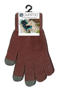 Picture of Original COMFRTXT  Touchscreen Gloves - CASE OF 10 PAIR! BROWN