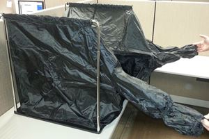 Picture of Darkroom Changing Tent and Frame