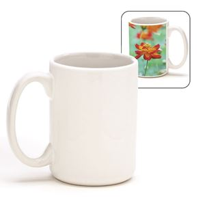Picture of Blank Sublimation 15 oz Mug - White