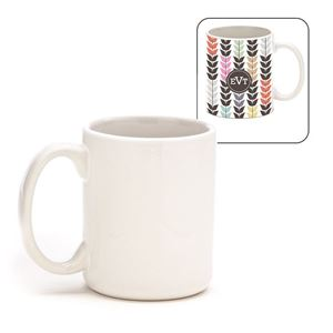 Picture of Blank Sublimation 11oz Mug - White