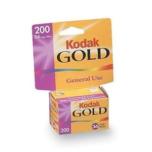 Picture of Kodak Gold 200 Film Carded - GB 135-36 exp (10/Case)