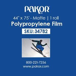 "Picture of Pakor Matte Polypropylene Film, 44"" x 75'"