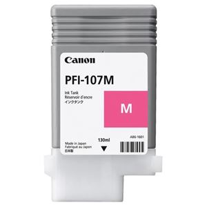 Picture of Canon  PFI-107 Ink, 130 ml - Magenta