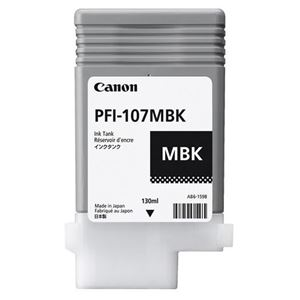 Picture of Canon  PFI-107 Ink, 130 ml - Matte Black