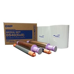 Picture of DNP 6x8 Center Perforated Media